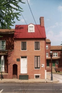 The historic home of Edgar Allan Poe is now open to the public as a museum at 2501, 203 N Amity St, Baltimore, MD 21223